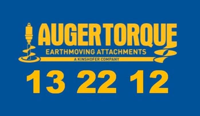 Auger Torque Earth Moving Attachments